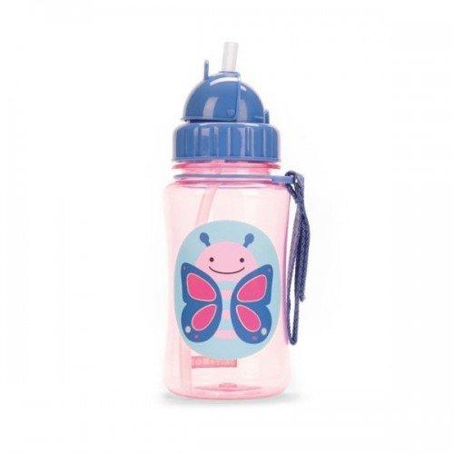 Детска бутилка със сламка Zoo